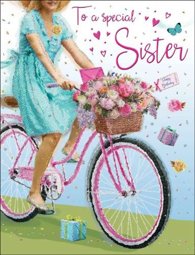 To A Special Sister Bike